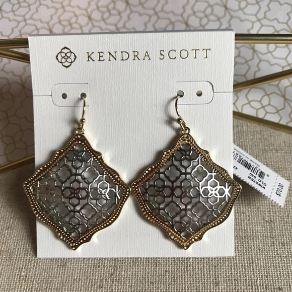 5fe5247c94f9c5 Kendra Scott Jewelry | Kirsten Earrings In Filigree Mix | Poshmark